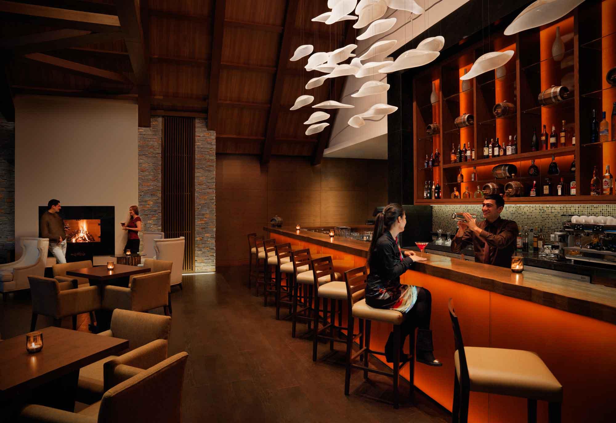 Lüks və müasir bir bar